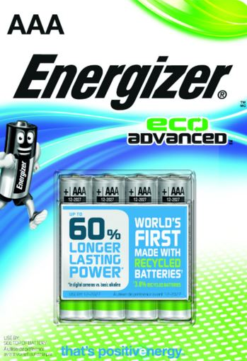 ENERGIZER ECO ADVANCED AAA 4-PACK LR03