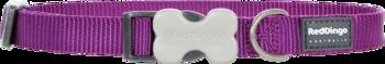 Classic dog collar purple