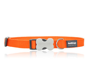 Classic dog collar Orange
