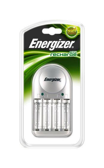 Laddare för AAA samt AA uppladdningsbara batterier