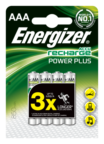 Energizer ACCU Recharge AAA Batterier