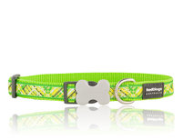 Flanno Dog Collar Lime