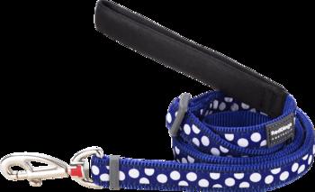 Hundkoppel Spots Blå - justerbart