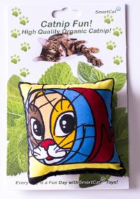 Kattmynta kudde från SmartCat 10pack