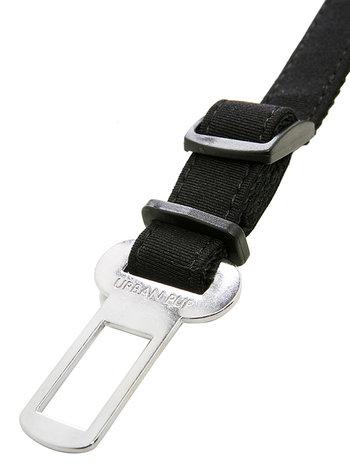 Anslutningsbälte Bilbälte hund, svart