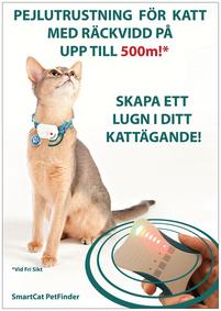 Reklamskylt SmartCat