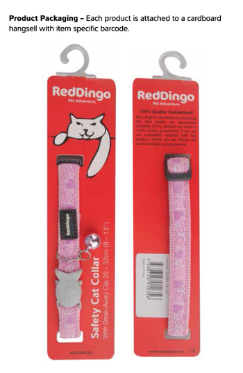 Paw impressions Red
